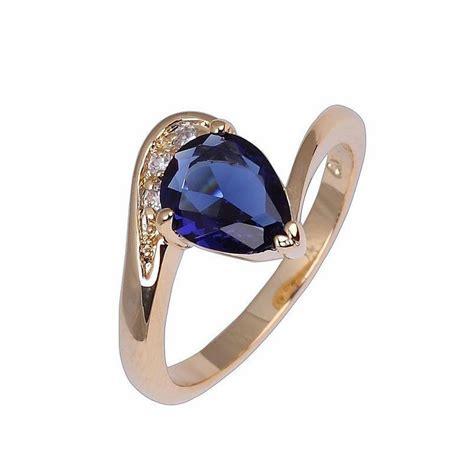 Cincin Yellow Sapphire Ah 50 cincin wanita dengan model blue sapphire
