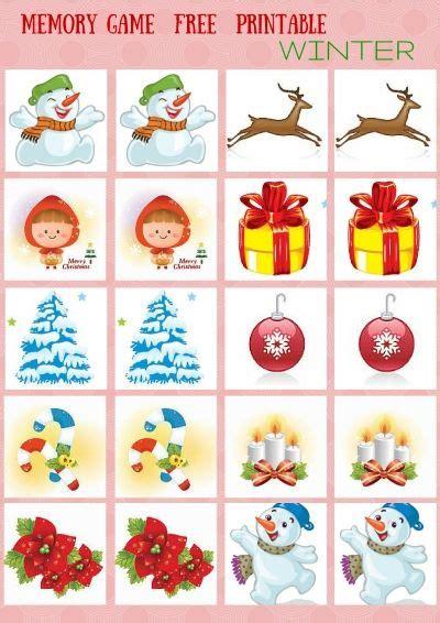 printable memory games for kindergarten seasons memory game free printables memory