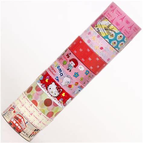 cintas decorativas cinta adhesiva decorativa kawaii 10 unidades set 59