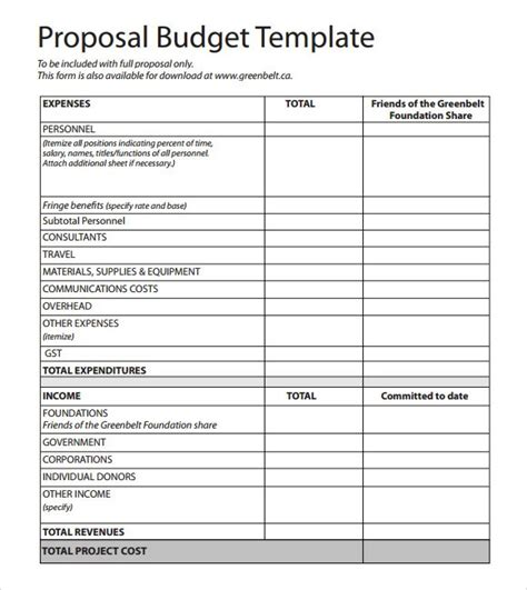 design project proposal exle doc 580650 budget proposal template word budget