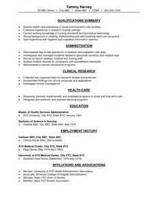 resume sle rn different nursing resume and salaries sales nursing