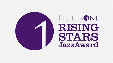 Letter J Award Letterone Rising Stars Jazz Award