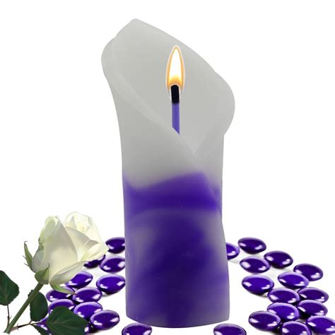 decorative flower candles decorative handmade scented candle flower gift ebay