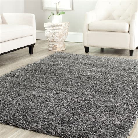 gray shag rug theresabader enjoy the feeling of luxury every day when you add this gray shag