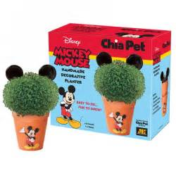 Christmas gifts white elephant gift mickey mouse chia pet