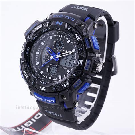 Jam Tangan Pria Digitec 2044 Original Hitam Liat Orange harga sarap jam tangan digitec energia dg 2044t hitam biru