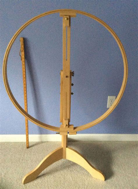 Quilting Frames And Stands by Hinterberg Wood Quilt Quilting Floor Stand Frame With 29 Hoop Sewing Ebay