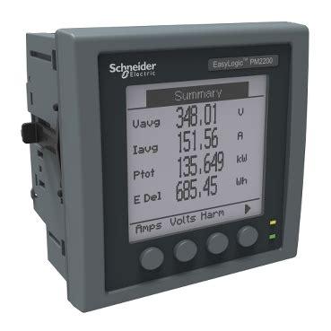 Power Meter Schneider Metsepm 2210 Schneider power monitoring and schneider electric