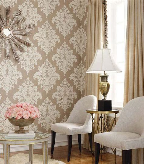 red damask wallpaper home decor decor references fabulous decorative patterns adding interest to modern