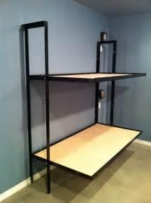 Folding Bunk Beds Folding Bunk Beds Without Mattress Diy Welding Prep C Hunt Mattress Bunk