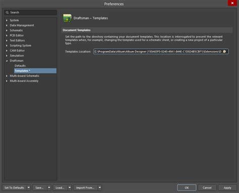 Altium Pcb Template by Draftsman Templates Documentation For Altium