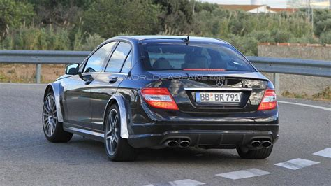 Class Black 2012 Mercedes C Class Black Series Spied