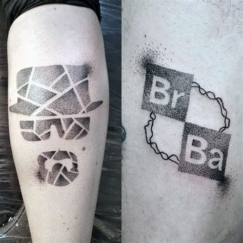 worst tattoo designs guys dotwork breaking bad designs tatuajes