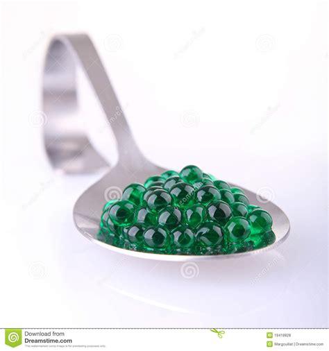 Caviar Mint Green mint caviar stock photo image of modern tasty spoon