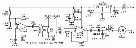 esr meter schematic diy in circuit esr meter diy crafts