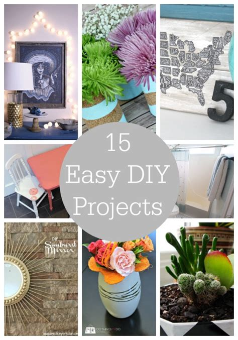 diy project 15 easy diy projects link party features i heart nap time