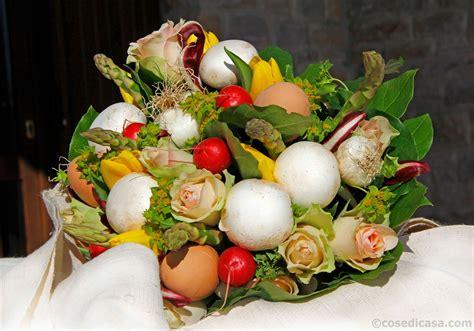 come fare un mazzo di fiori per pasqua un mazzo di fiori e verdure cose di casa