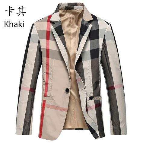 Dress Korea Stripe Import Casual aliexpress compre mens plaid blazer tecido importado