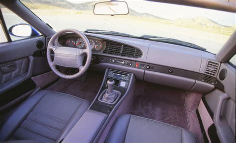 interior photo name that shifter no 8 porsche 968 car and driver blog