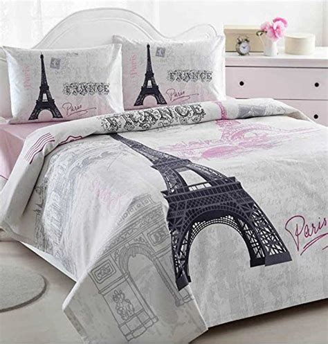 paris bedding full romantic cute and trendy paris themed home decor