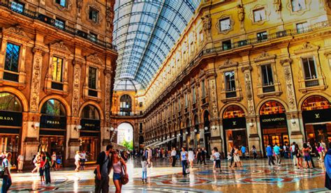 best shops in milan best places to travel in europe in 2017
