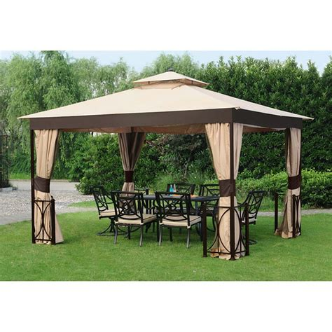 home depot gazebo hton bay belcourt 10 ft x 12 ft gazebo the home