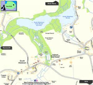 River Cottage Gardens - south walsham norfolk broads including south walsham broad and fleet upton
