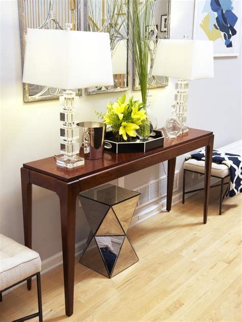 Console Table Living Room with Advertisement