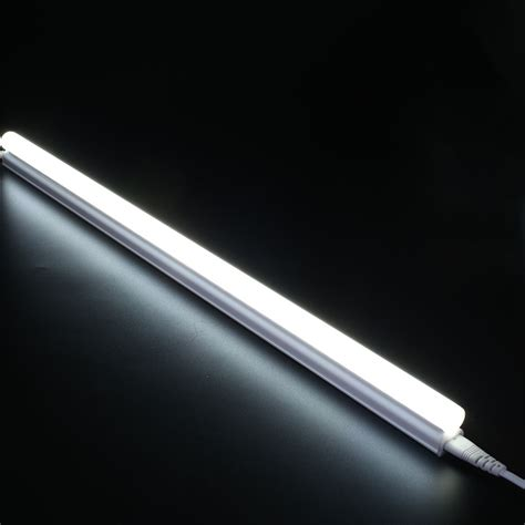 Led Fluorescent Light Bulbs T5 Led Fluorescent Bulb 5w Ac 220v Warm White Light 300mm Ebay