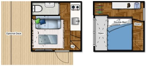 micro compact home floor plan the nomad micro home is for cold climates humble homes house floor plans