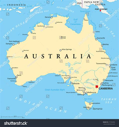 lakes in australia map map of australia with rivers names pictures to pin on
