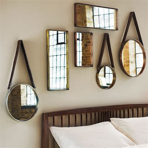 hanging bathroom mirror objects of design 341 round hanging mirror mad about