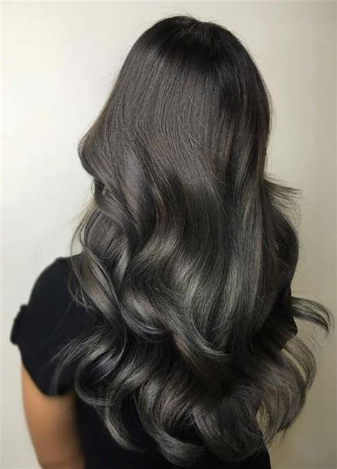 black grey hair dark hair color ideas for 2017 new hair color ideas