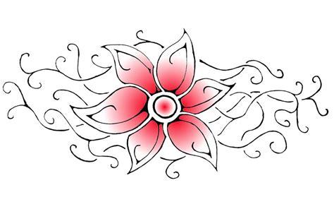 tribal flower design by aeroblade88 on deviantart