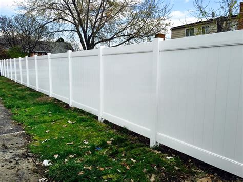 Paramount Fence Vinyl Fence Installation In Michigan Fence Warranty Template