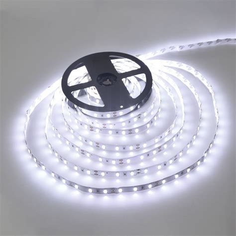 Led Waterproof Strip Lights White Flexible Rope Lighting Waterproof Led Light Strips