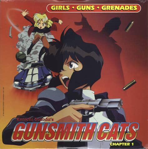Gun Smith Cats new series from gunsmith cats creator project haruhi