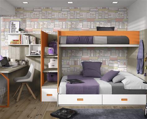 Lit 2 Places Ado 900 by Chambre Ado Compos 233 D Un Lit Superpos 233 D Un Bureau Et Des