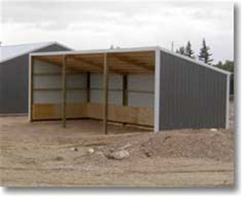 single slope pole barn archives hansen buildings