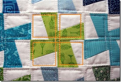 Quilt In The Ditch by Quilting On A Budget Take Stitch In The Ditch One Step