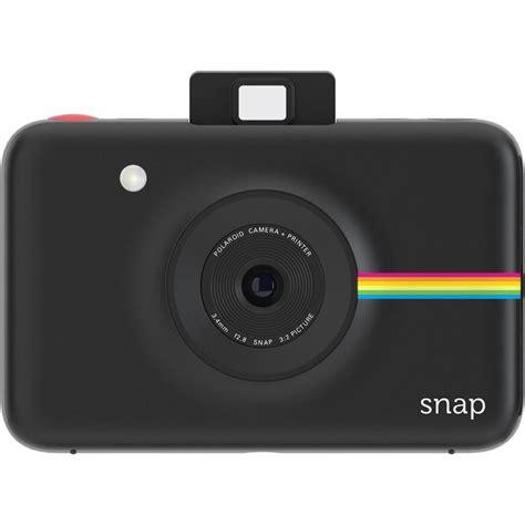 digital polaroid polaroid snap instant digital black polsp01b b h