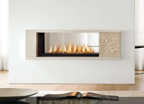 Two Way Fireplace Insert by Marquis Infinite Gas Fireplace
