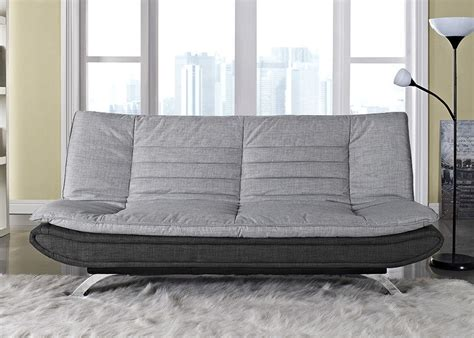 bed settee ebay fabirc sofabed 3 seater egg grey or charcoal fabric and