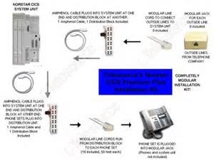 nortel norstar phone system installation nortel wiring diagram free