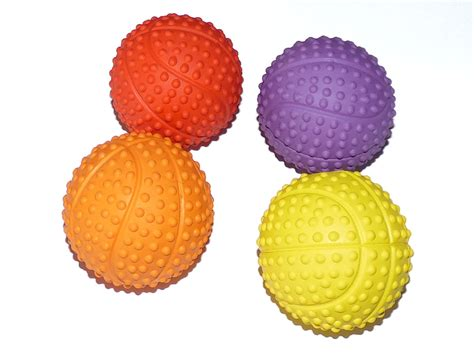 Small Soft Rubber Balls by Small Rubber Squeaky Puppy Two Pack Or Four Pack
