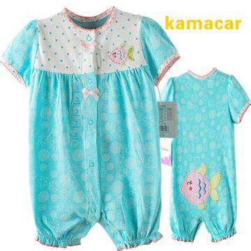 Kazel Bodysuit Baju Bayi Jumpsuit Balita Jumper Baby Isi 4 kamacar romper blue fish valerie store