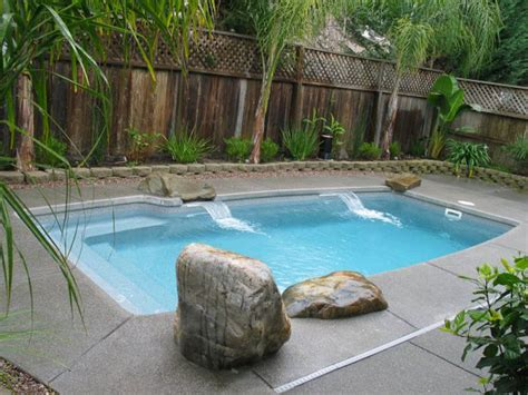 small in ground pools minimalist backyard design with small private inground