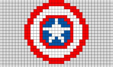 Captain America Shield Pixel Art ? BRIK