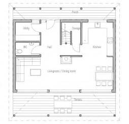 Cost To Build Floor Plans Small House Plan Ch187 Images Floor Plans Small Home
