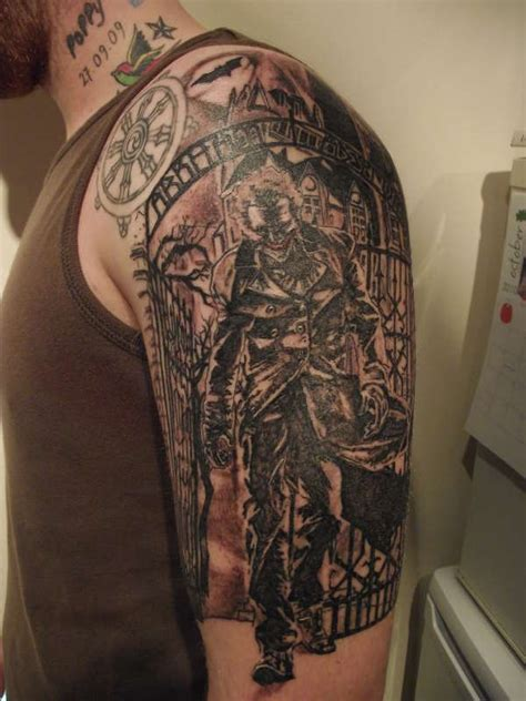 shoulder half sleeve tattoo designs best joker designs